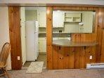 Lower level kitchen - 2 kitchens!
