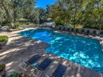 Enjoy the lovely pool with several decks!