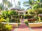 Nice garden at Los Corales