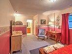 Each room offers plush furnishings
