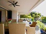 Ocean View Outdoor Dining / Sun Loungers