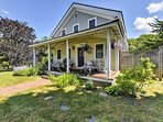Soak in the rich history and beauty of Martha's Vineyard at this 4-bedroom, 2-bathroom vacation rental house in Oak...