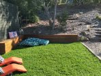 large out door crash mats and lounges to enjoy while soaking up the sun