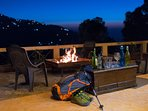 Have a Barbecue in the night along with enjoying the cool breeze sitting out on the deck