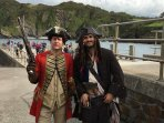 A couple of chaps found down by the harbour during the 'Sea Ilfracombe Maritime Festival'