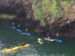 Paddle boarding at Watermouth Cove with Active Escape (on Trip Advisor)