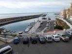 vistas al puerto