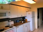 Full size kitchen with all major appliances