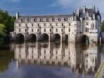 Chenonceau is one of many historical chateaus which can be visited when staying at La Richardiere