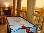 Air hockey is fun for all ages!