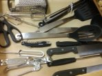 Baking utensils and pans available for your use