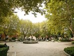 The park at Piazza Garribaldi 50 meters from the house