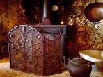 Traditional wood burner