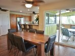 Indoor Dining Area off Main Living and Kitchen