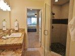 Master Bathroom with Walk In Shower