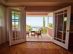 Master Bedroom Lanai with Ocean Views