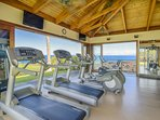 Ocean Front Exercise Area