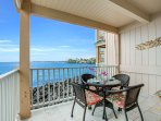 Ocean Front Dining!  Great for Watching the Famous Kona Sunsets too!