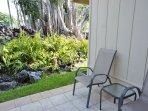 Lanai with Tropical Garden Views