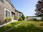 Private waterfront retreat in coveted Otis Point
