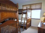 Bedroom 3 with Two Sets of Bunk Beds