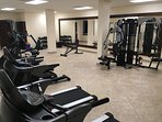 Never miss a workout with this workout facility right at the the resort.