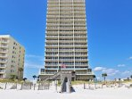 The Condo Building from the Beach