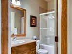 Snowbanks 1 Lower Floor Bathroom