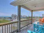 Top Floor Oceanside Deck