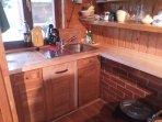 Fairytale wooden house near Ljubljana-kitchen