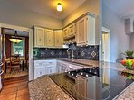 Whip up a culinary creation in the fully equipped and newly renovated kitchen.