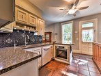You'll have ample counter space and newly updated amenities to cook for a crowd with ease.