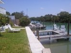 Private Boat Docks and Fishing Area