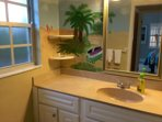 Beachy Bathroom with Tub/shower
