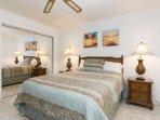 2nd bedroom has Queen size bed