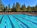 Tahoe Donner Lap Pool