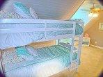 Top floor Bedroom with Twin Bunks
