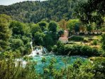 Krka National Park is only 40 minutes drive from house