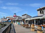 Johns Pass Village & Boardwalk, 1 mile north