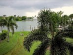 Balcony view of pool and intracoastal waters