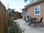 Side/backyard