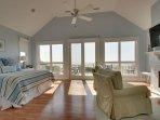 Master Bedroom Oceanfront Deck, Wow!