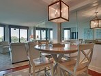 Dining Area, With Ocean Views Through Living Area