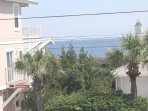 Ocean view from the patio