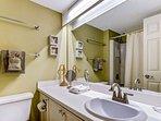 Bottom Level Master Bathroom #1
