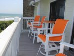 Furnished Deck ~Ocean/Beach Views