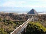 Oceanfront Gazebo & Walkway