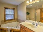 Each bedroom has an en-suite bathroom!