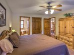 You'll find that each room has ample storage space for all your belongings.