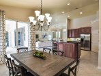 Dining Room and Kitchen Overview